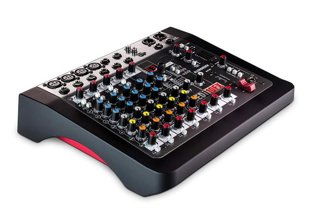 Allen & Heath ZEDi-10FX Hybrid Compact Mixer-4x4 USB Interface with FX