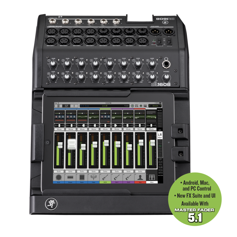 Mackie DL1608L 16 Channel Digital Live Sound Mixer