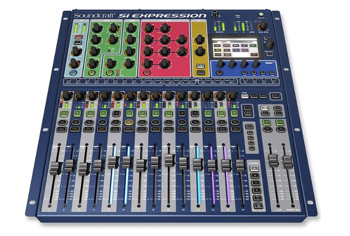 Soundcraft Si Expression 1 Digital 16-Channel Live Audio Mixer Console