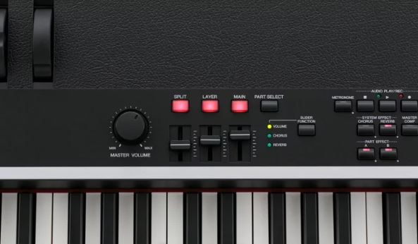 Yamaha CP4 options on front