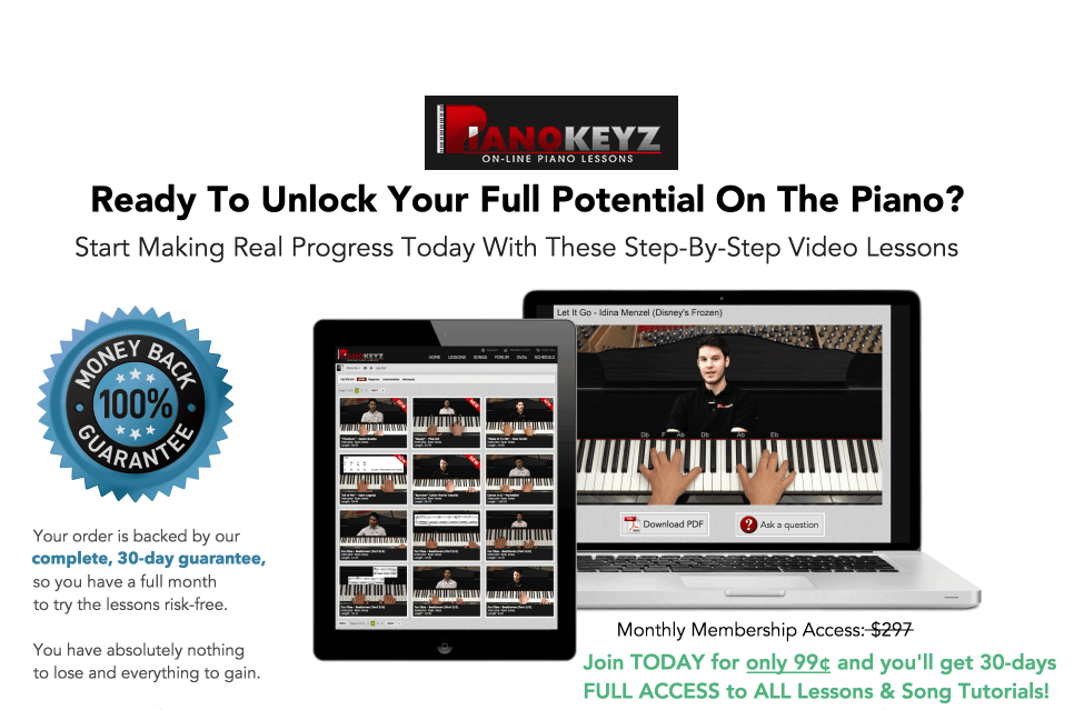 Piano Keyz Online Course Review in 99 Cent