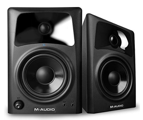 Under $200 Studio Monitor M-Audio AV42 - 20-Watt Compact Size