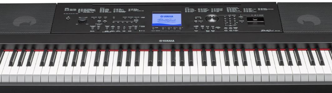 Graded Hammer action keys of Yamaha DGX 660