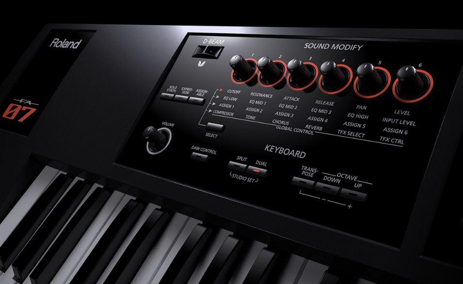 Roland FA 07 review