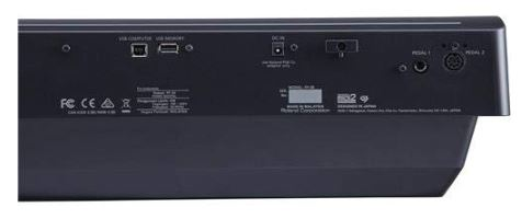 Roland FP 30 Connectivity Options