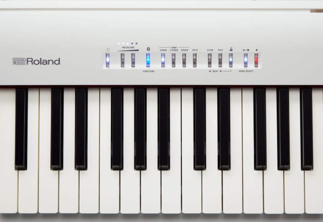 Roland FP 30 Digital Keyboard In White Color