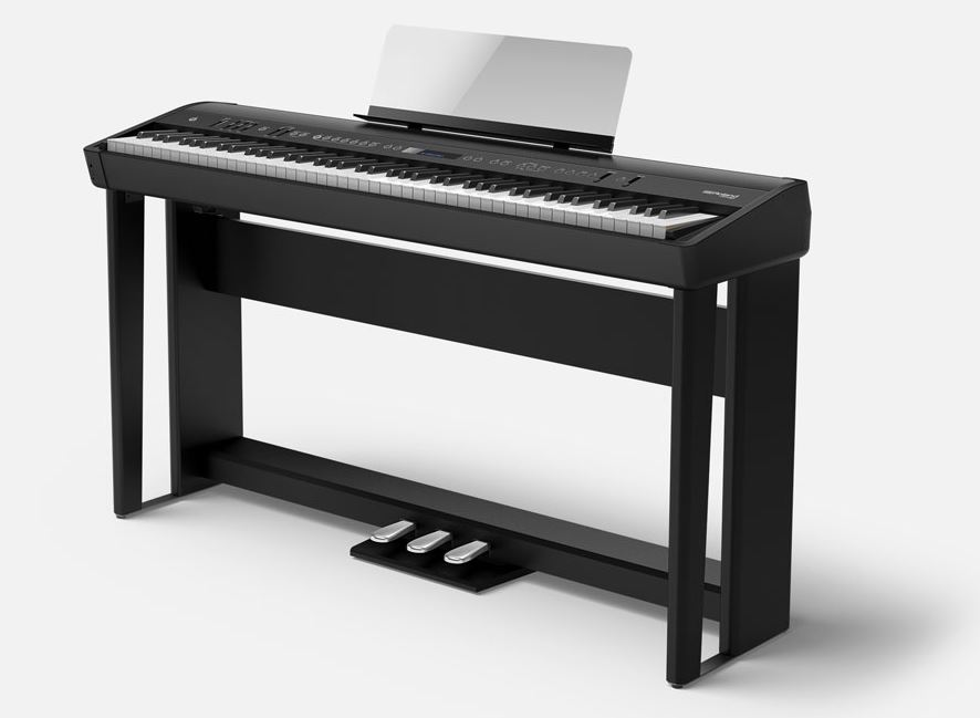 Roland FP 90 Digital Piano with Pedals and Stands