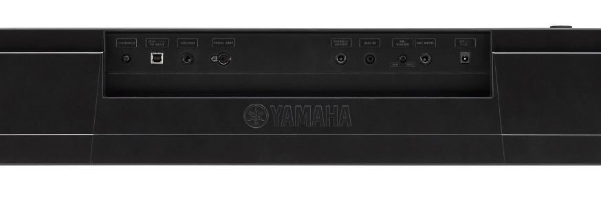 Yamaha DGX 660 connectivity options