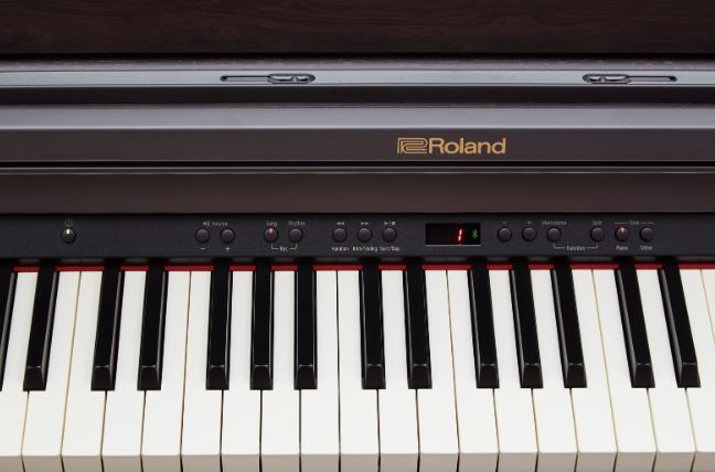 Roland RP 501 Digital Piano Keys and Feel