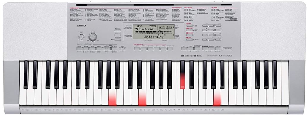 Casio LK 265 Alternative Option - Casio LK 280