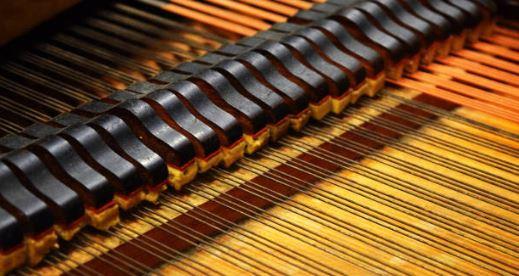 Piano string