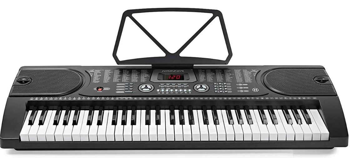 Rockjam RJ-561 Alternate Option - Hamzer 61-Key Portable Electronic Keyboard