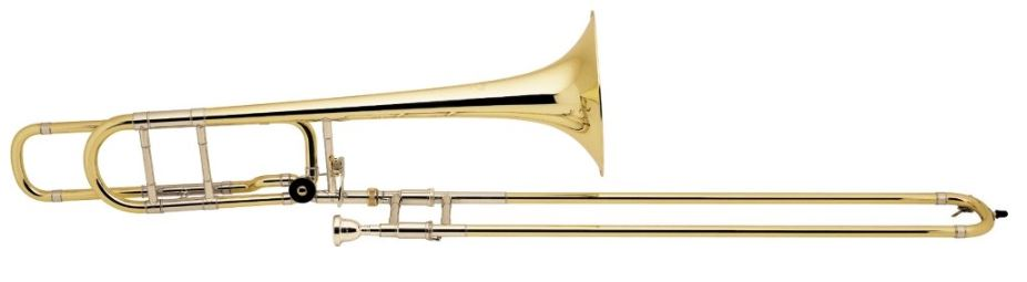 Bach 42BO Stradivarius Series F-Attachment Trombone costing $ 3399