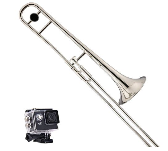 Kaizer Trombone B Flat Bb Nickel Silver costing $195