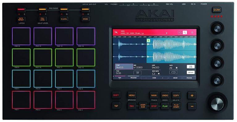Akai Professional MPC Touch Drum Machine Under $1000