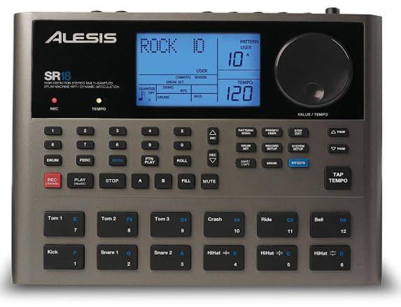 Alesis SR-18 - Studio-Grade Standalone Drum Machine Under $300
