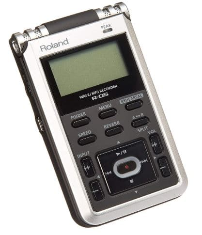 Roland R-05 Studio WAVE-MP3 Recorder