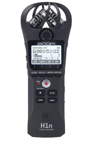 Zoom H1n Handy Recorder best recorder under 200
