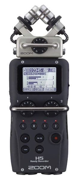 Zoom H5 Four-Track Best Portable Recorder Under $400