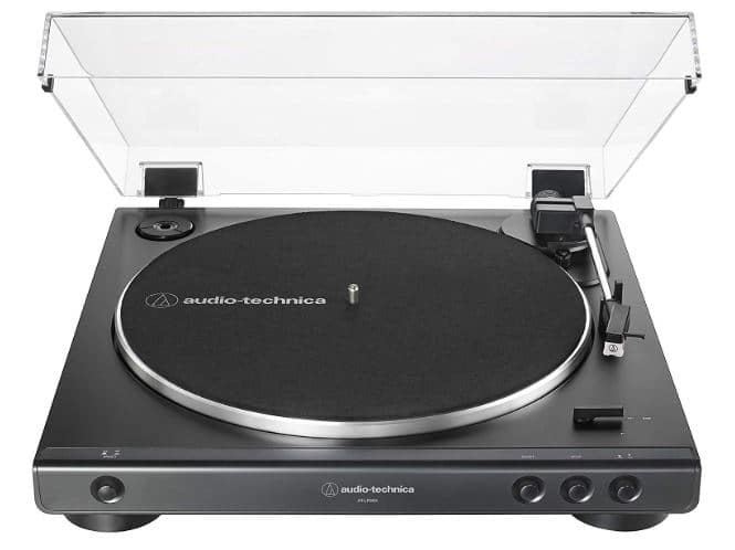 Audio-Technica AT-LP60X-BK Fully Automatic Belt-Drive Stereo Record Player