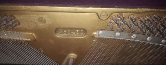 Baldwin Acrosonic Piano Serial Number