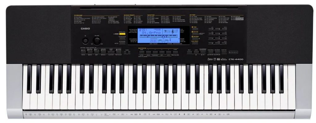 Casio CTK 4400 Keyboard Review