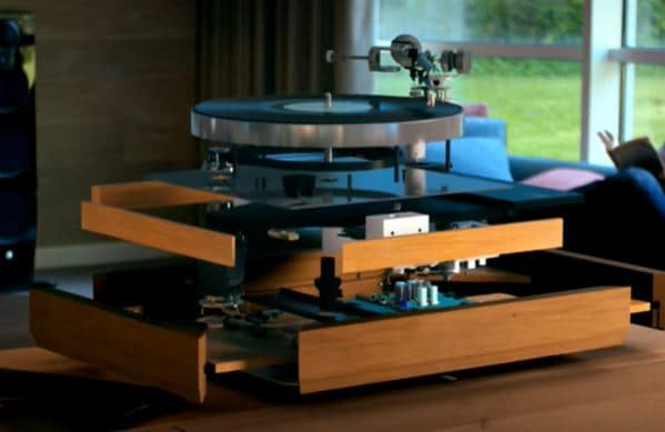 How a turntable work