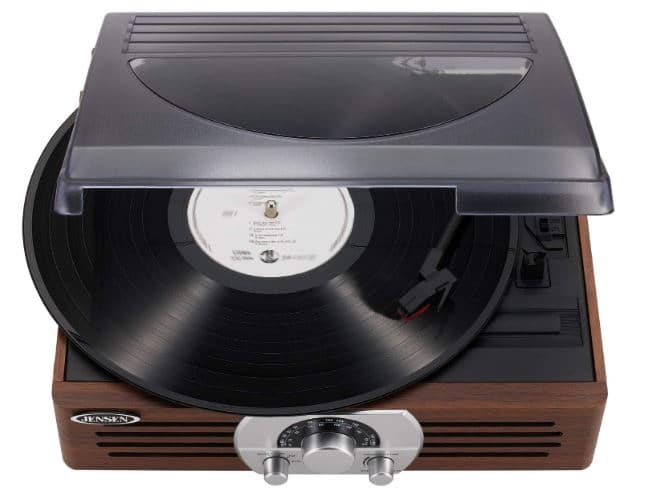 Jensen JTA-222 - best audiophile turntable