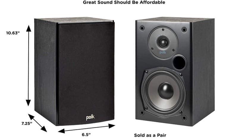 Polk T15 Speaker specs