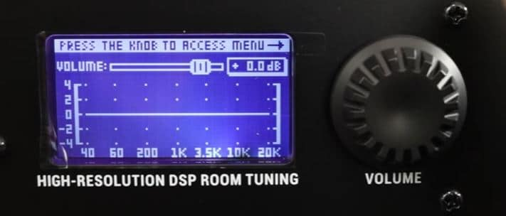 Control Panel of Rokit G4