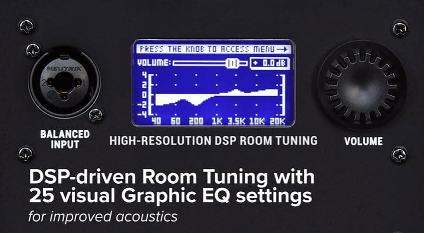 DSP driven room tuning