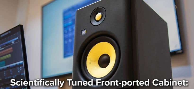 Front Ported Cabinet Of Rokit G4