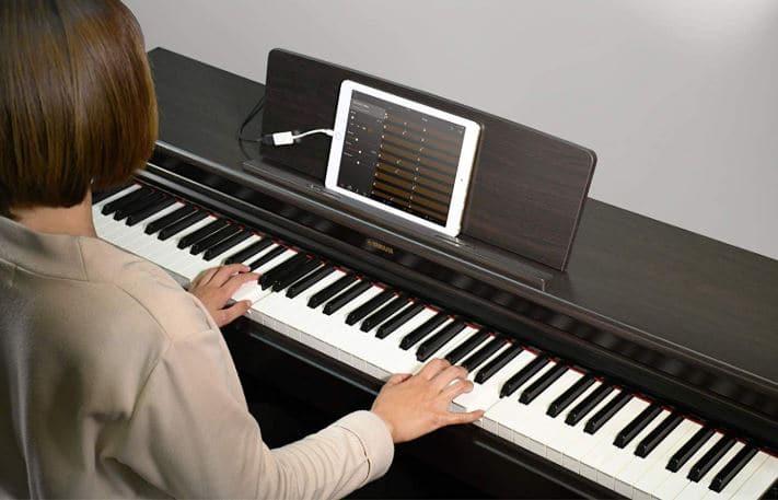 The Smart Pianist app working on yamaha ydp 144