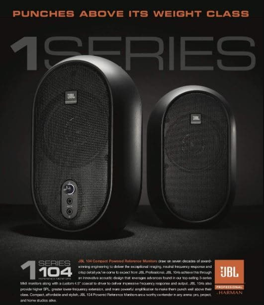 jbl 1 series 104 review