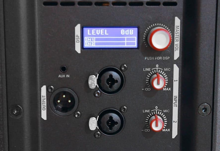 Connecting Options Of Electro-Voice ZLX12P