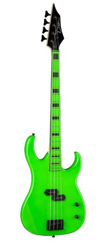 Dean Custom Zone Bass, Nuclear Green