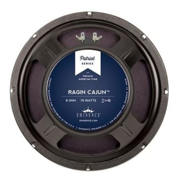 Eminence Patriot Ragin Cajun Gtr Spkr 10in 8Ohms