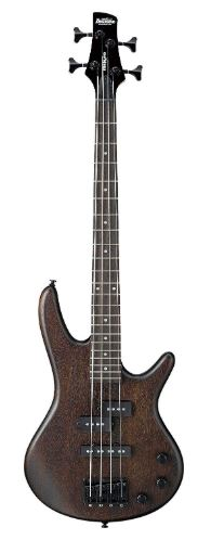 Ibanez 4 String Bass Guitar, Right, Walnut Flat