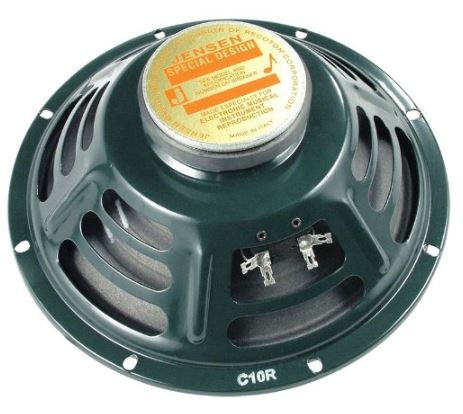 Jensen Speaker, Green, 10-Inch (C10R)