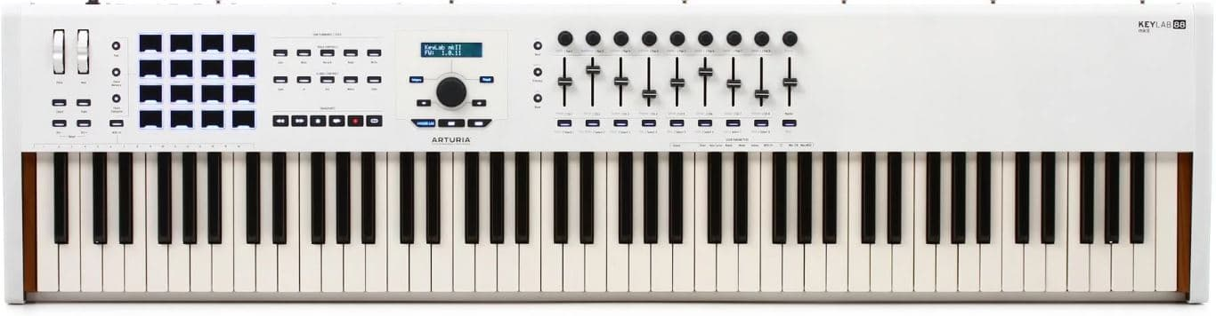 Keylab 88 MK ii Features and Specs