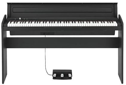 Korg 88 Key Lifestyle Piano Black (LP180BK)