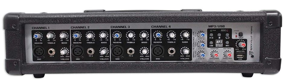 My choice in audio mixer - Rockville RPM45