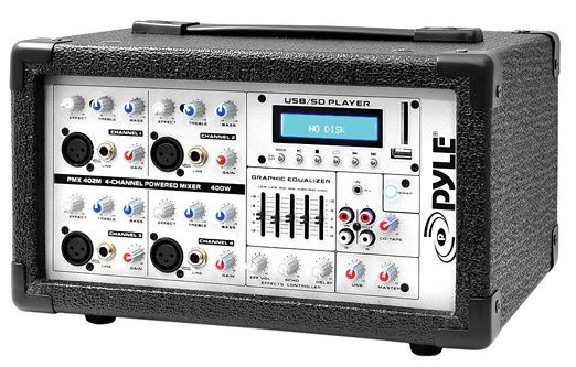 Pyle The best 4 channel mixer