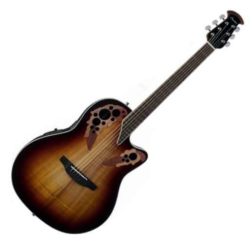 Ovation CE48P-KOAB Guitar Celebrity Elite Plus Super Shallow Koa Burst For Small Hands