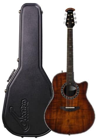 Ovation Legend Plus Premium Grade Koa Top Acoustic-Electric Guitar