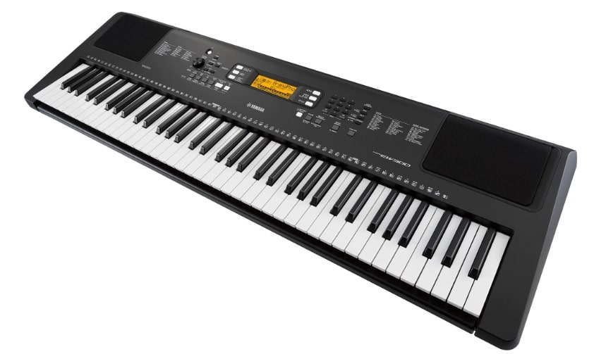 yamaha psr ew300 keyboard full view