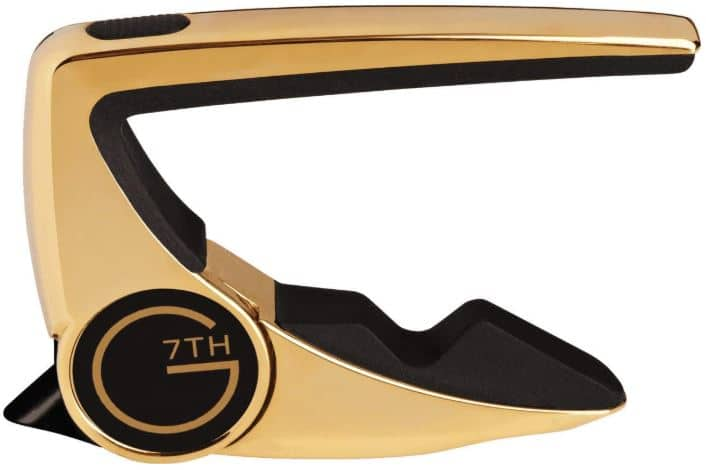 G7th G7C-P2GLD Performance 2 Acoustic Guitar Capos