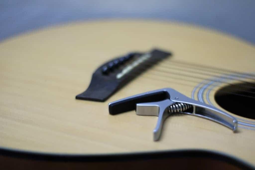 best guitar capos - kyser capo