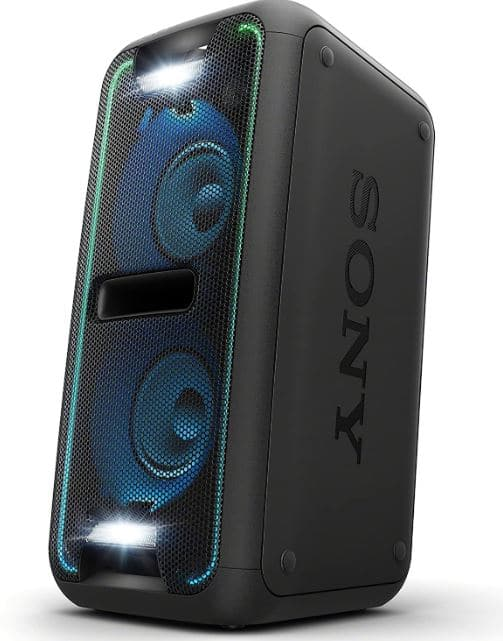 Sony GTKXB7BC party speakers with lights