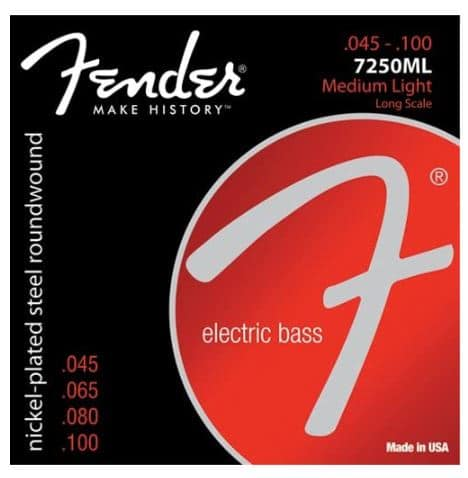Best Strings for Fender Jazz Bass - Fender Super Bass 7250